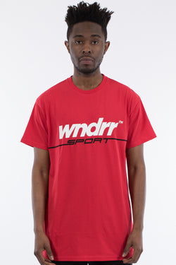SERVE CUSTOM FIT TEE - RED
