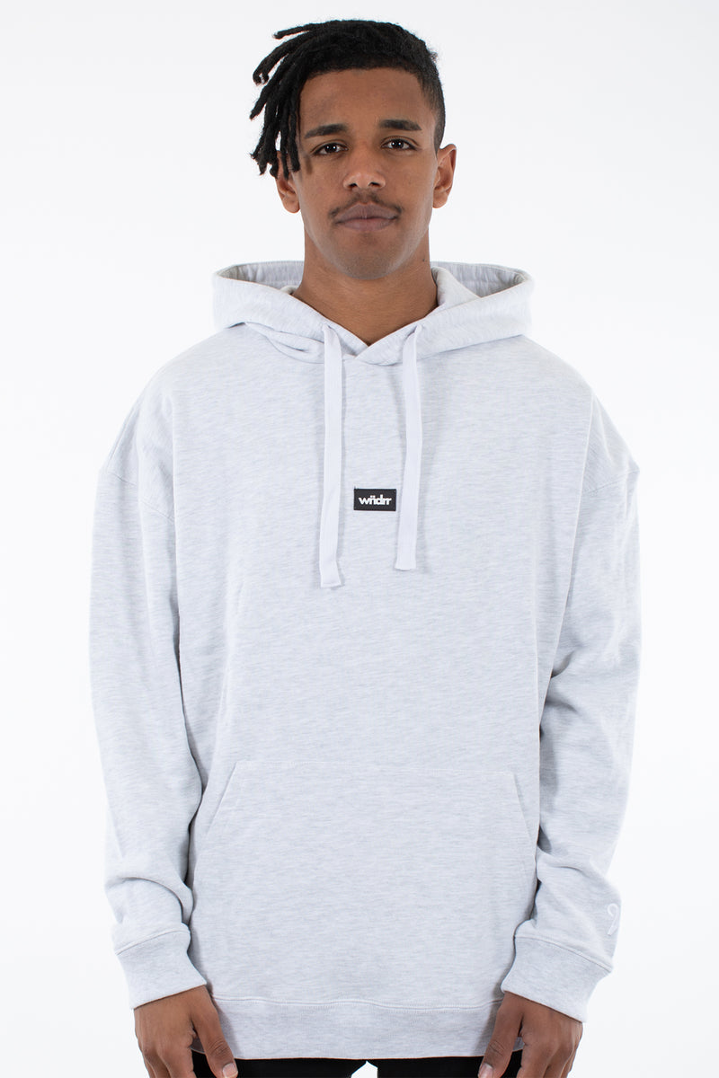 HOXTON HEAVY WEIGHT HOOD SWEAT - GREY MARLE
