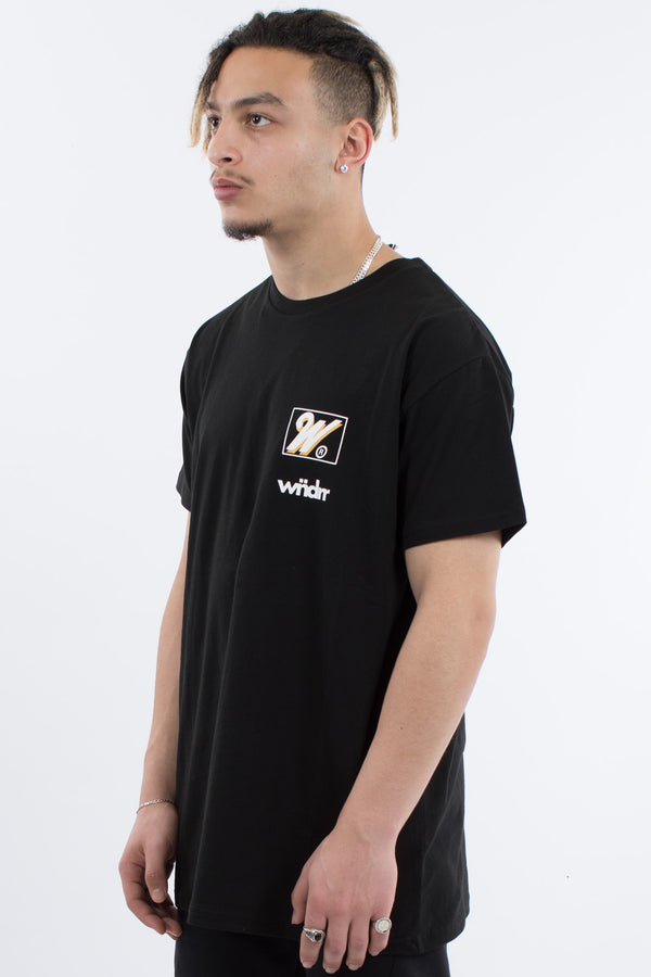 ROCKWELL CUSTOM FIT TEE - BLACK