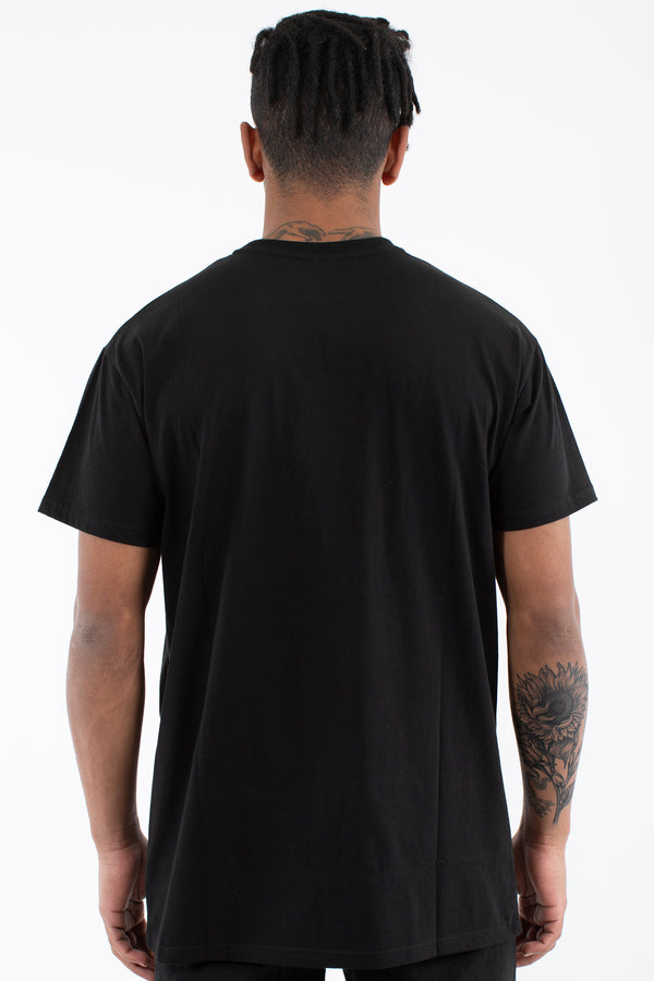 SLATE CUSTOM FIT TEE - BLACK