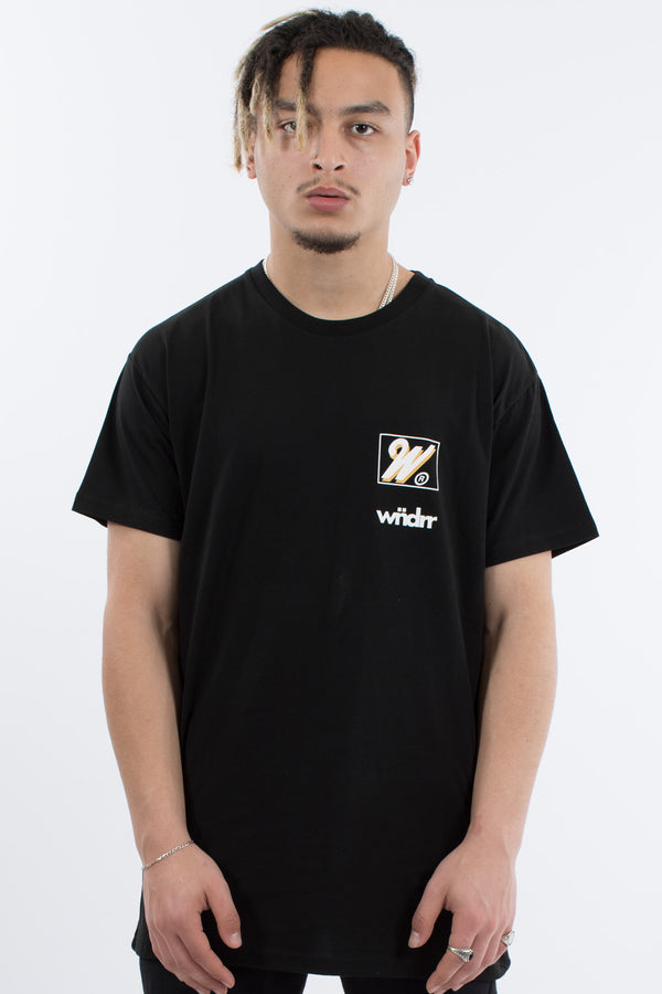 ACROSS CUSTOM FIT TEE - BLACK