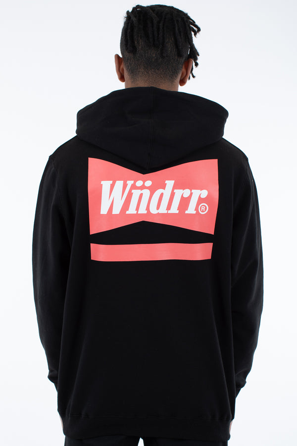 CHADWICK HOOD SWEAT - BLACK