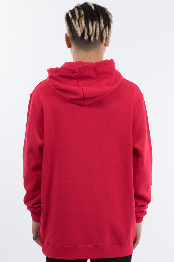 MARVEL HOOD SWEAT - RED