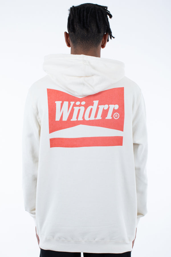 CHADWICK HOOD SWEAT - OFF WHITE