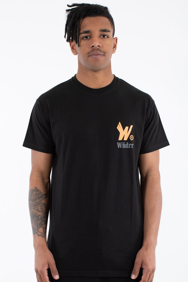 FLIGHT CUSTOM FIT TEE - BLACK