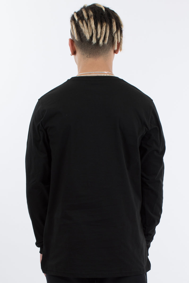 IGNITION L/S TEE - BLACK