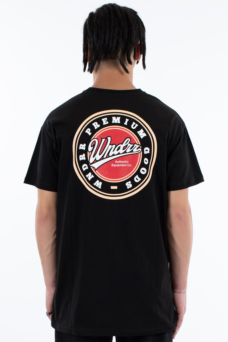 COASTERS CUSTOM FIT TEE - BLACK