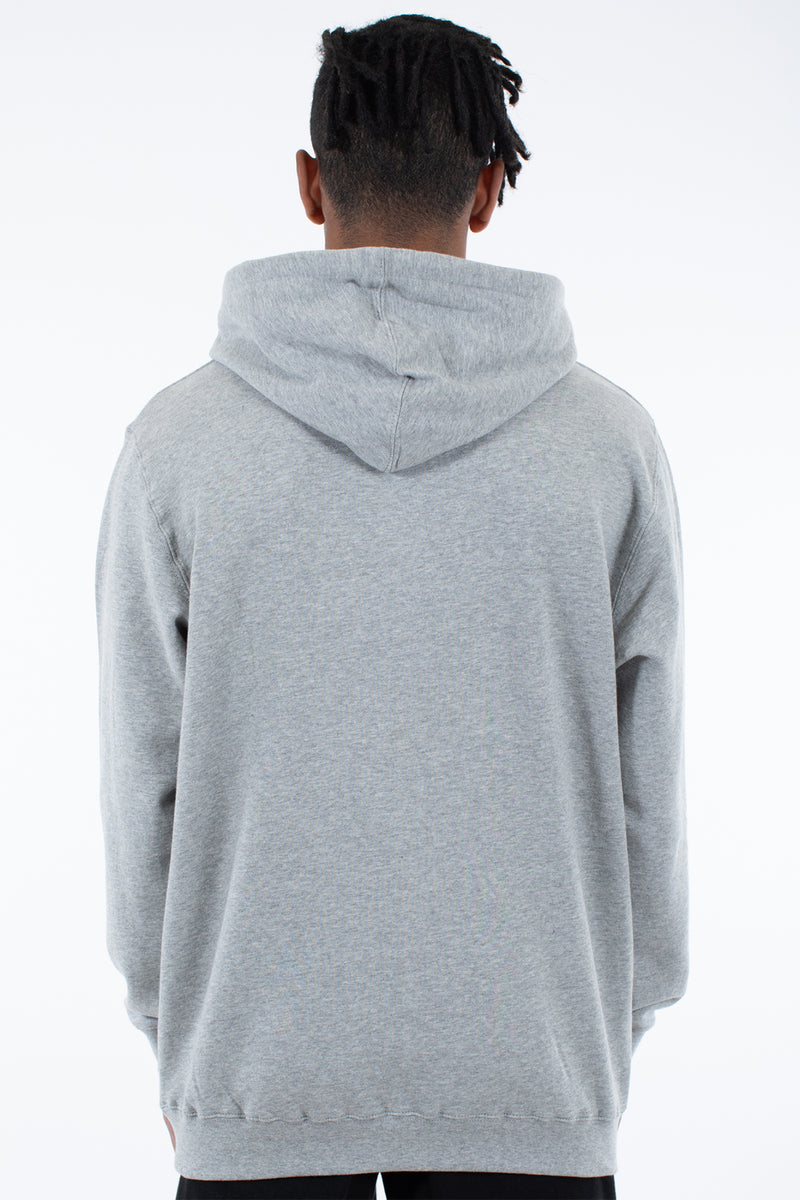 FLIGHTS HOOD SWEAT - GREY MARLE