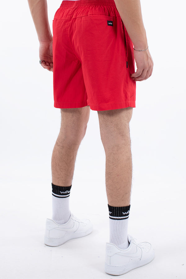LEADER BEACH SHORT - RED