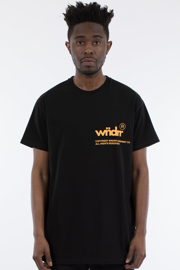 OFFCUT CUSTOM FIT TEE - BLACK