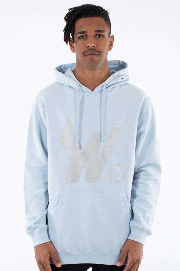 FLIGHTS HOOD SWEAT - SKY BLUE