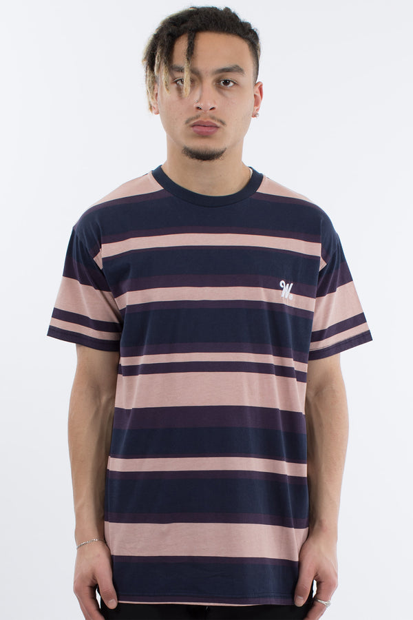 MANTRA STRIPE TEE - MULTI