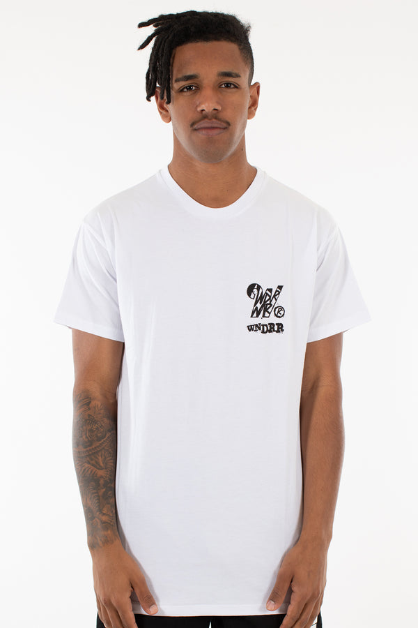 CRASH CUSTOM FIT TEE - WHITE