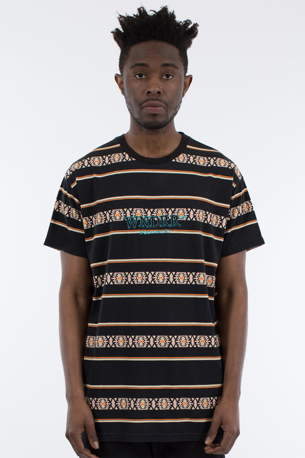TOCI STRIPE CUSTOM FIT TEE - MULTI
