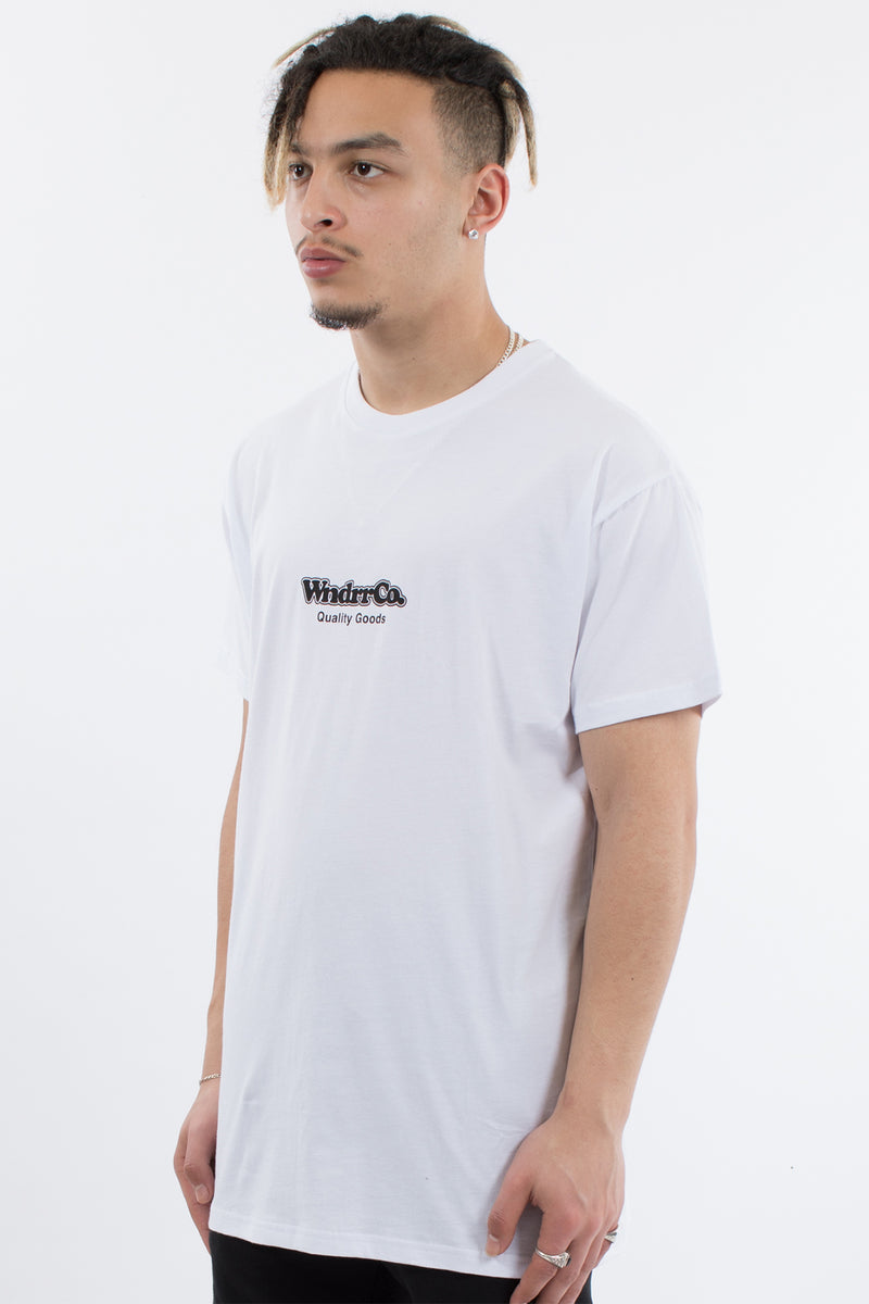 CHUCK CUSTOM FIT TEE - WHITE
