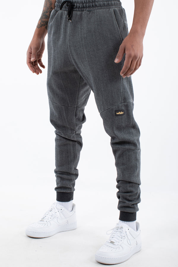 HOXTON VINTAGE TRACKPANT - WASHED BLACK