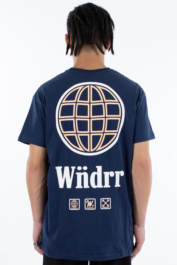 ORBIT CUSTOM FIT TEE - NAVY