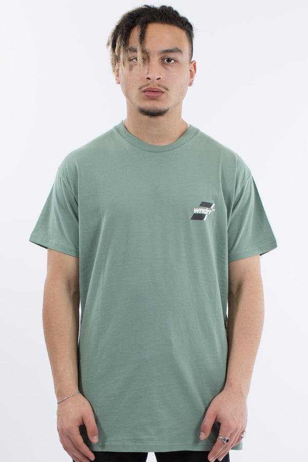 ACROSS CUSTOM FIT TEE - OLIVE