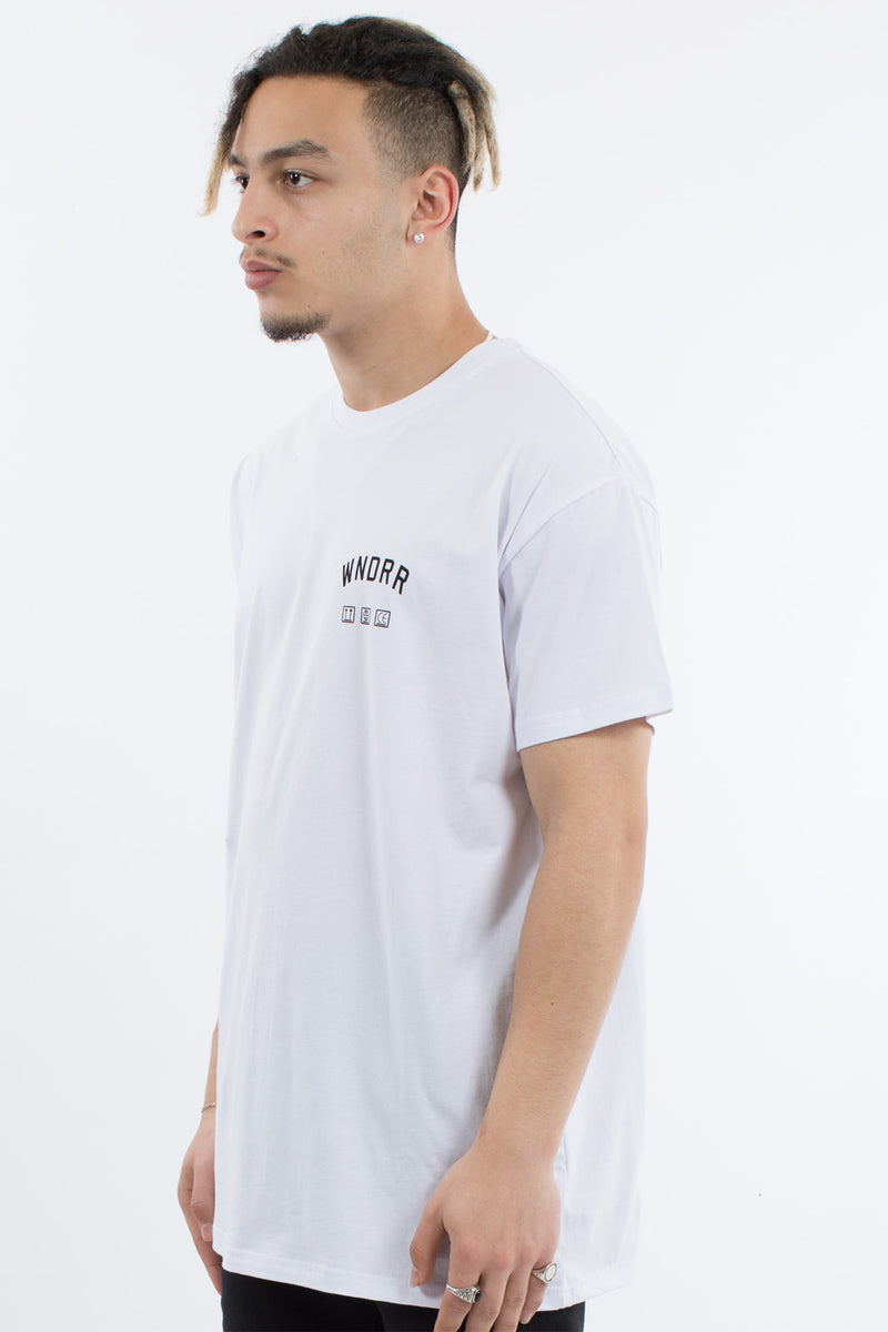 PROVISION CUSTOM FIT TEE - WHITE