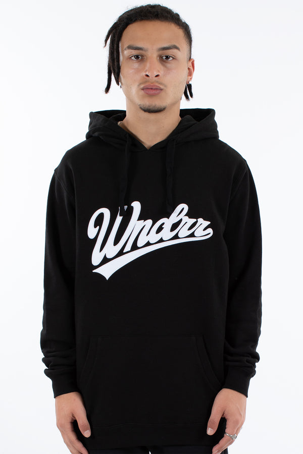 AMERICAN SAGA HOOD SWEAT - BLACK