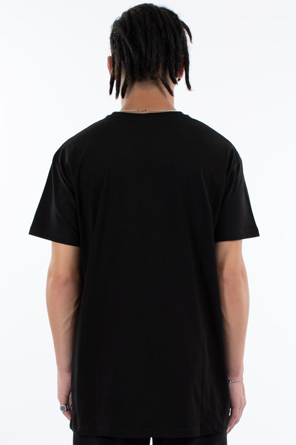 MANIFEST CUSTOM FIT TEE - BLACK