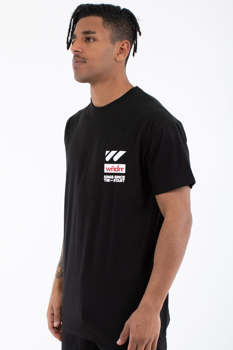 CENTRE LINE CUSTOM FIT TEE - BLACK