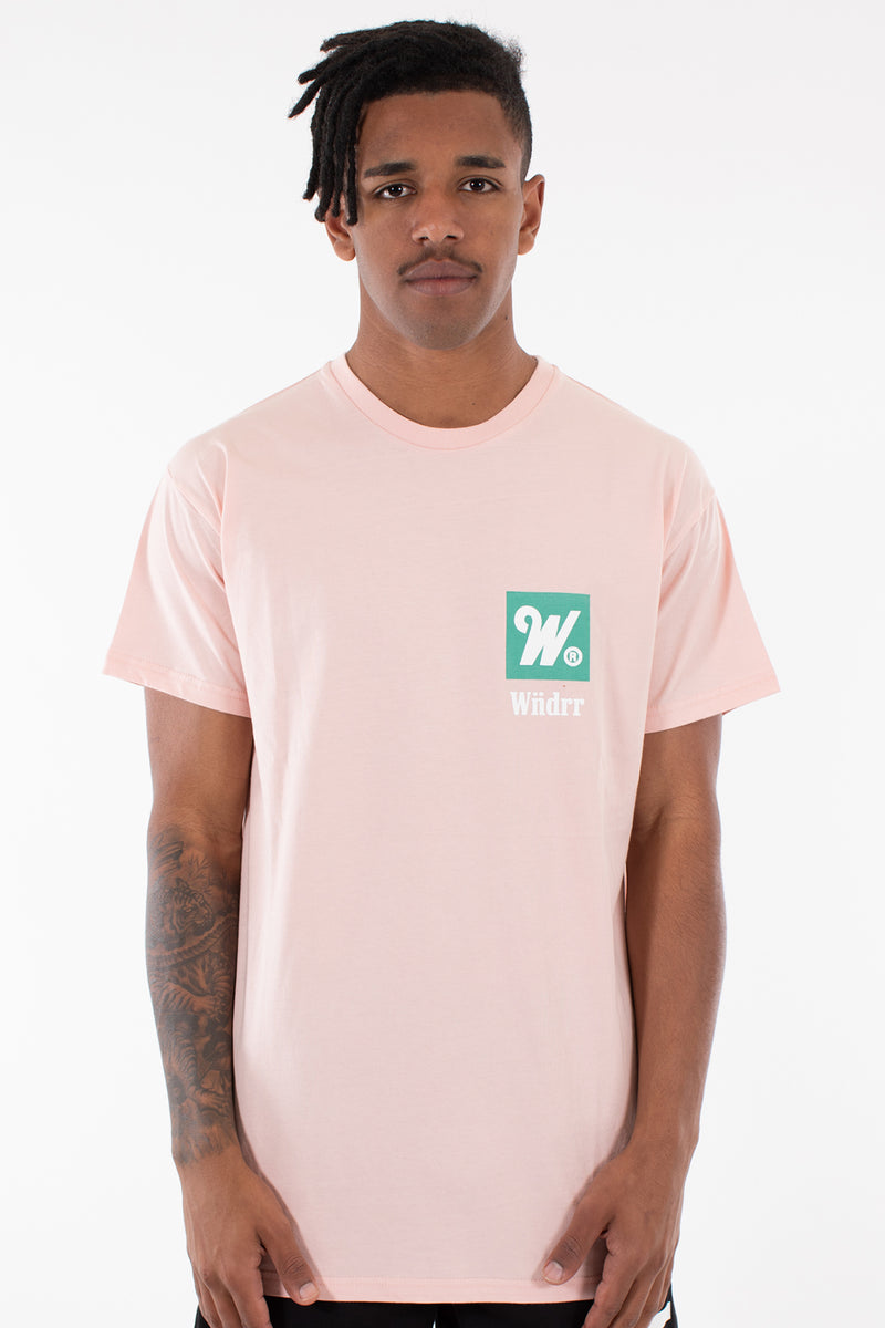 OVERDUE CUSTOM FIT TEE - CORAL