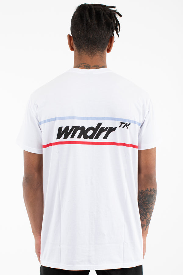 BOOKER CUSTOM FIT TEE - WHITE