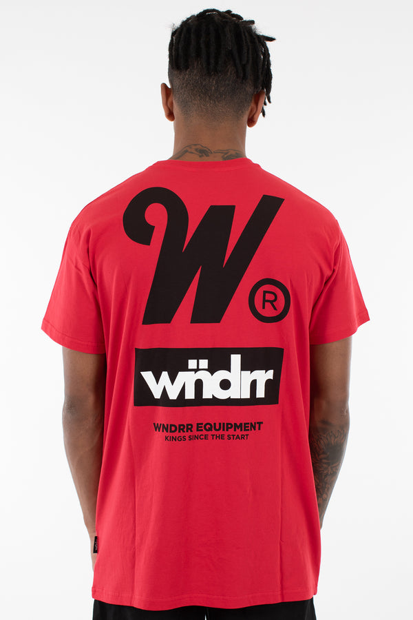 CODE CUSTOM FIT TEE - RED