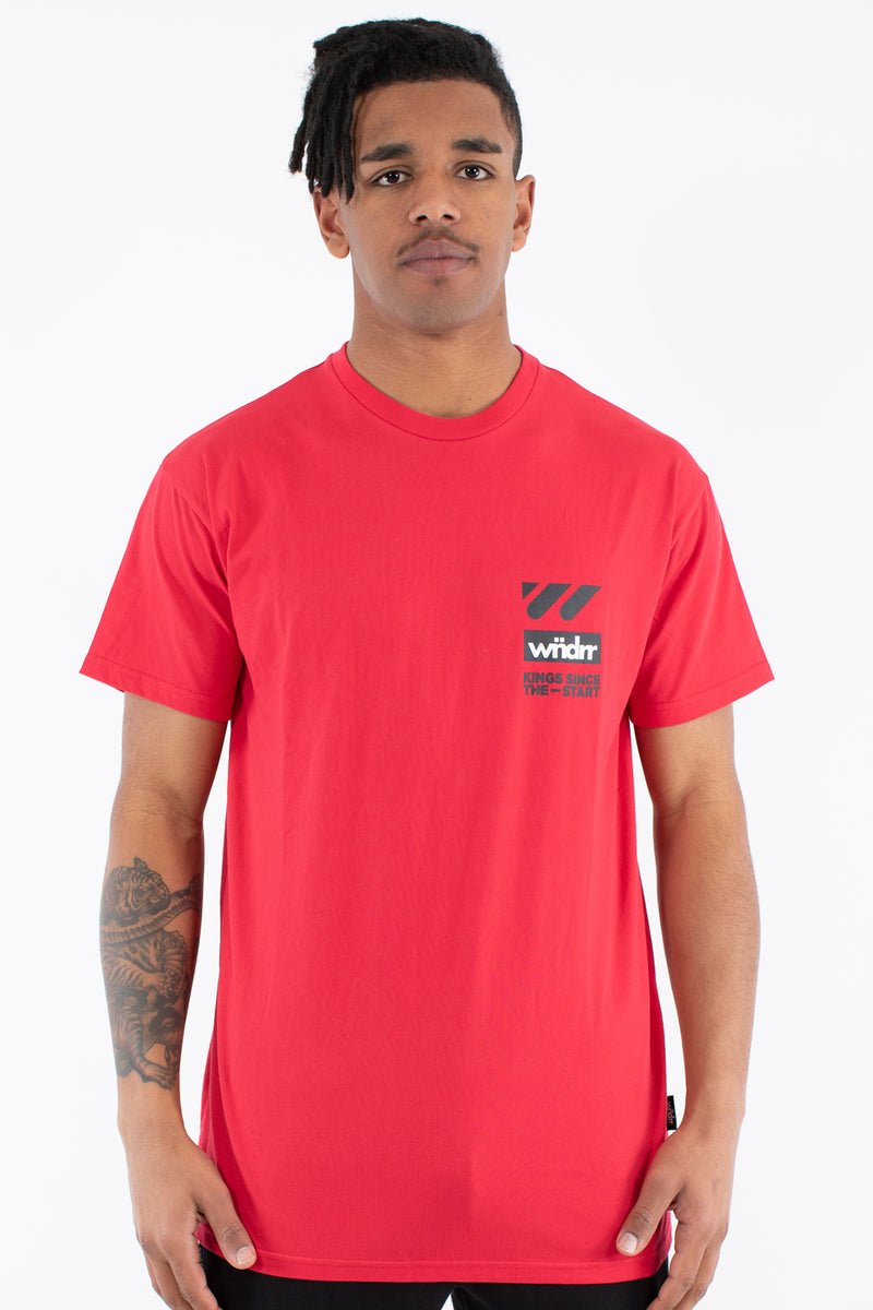 CENTRE LINE CUSTOM FIT TEE - RED