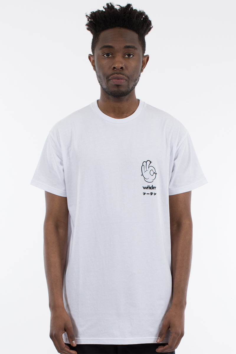 TALENT CUSTOM FIT TEE - WHITE