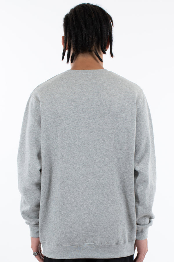 PIERRE CREW SWEAT - GREY MARLE