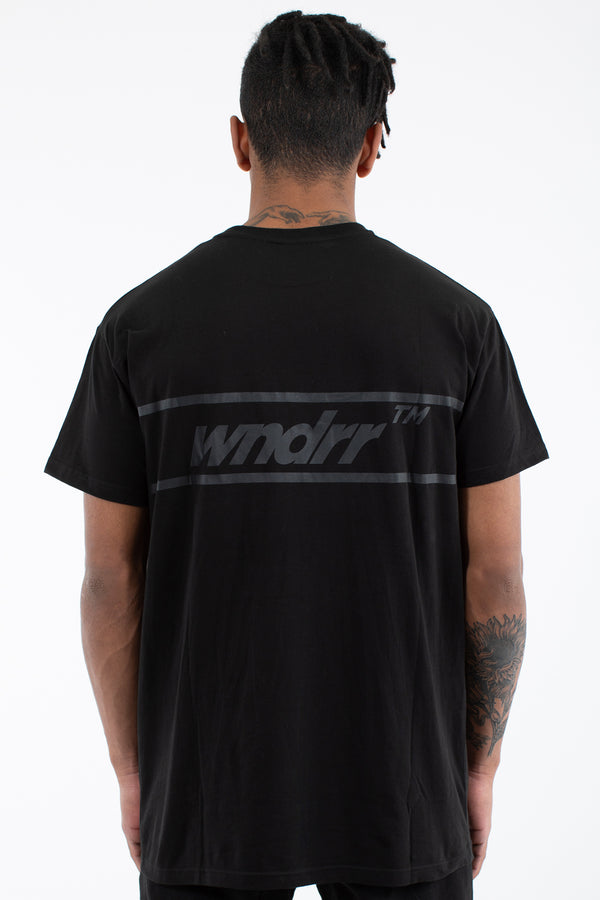 BOOKER CUSTOM FIT TEE - BLACK