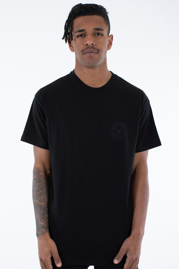 ORNAMENT CUSTOM FIT TEE - BLACK