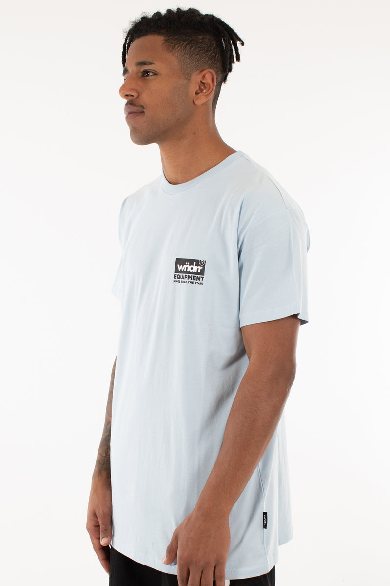 CODE CUSTOM FIT TEE - SKY BLUE