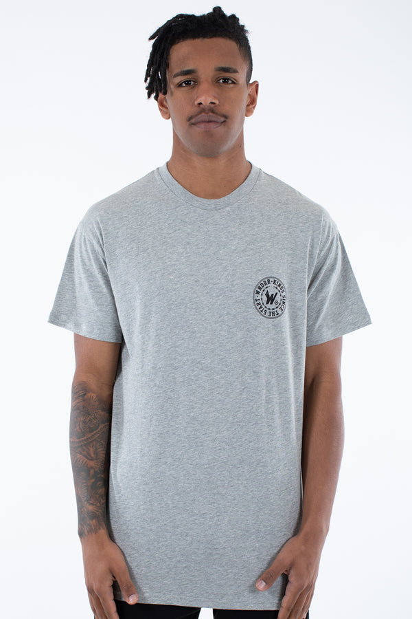 ORNAMENT CUSTOM FIT TEE - GREY MARLE