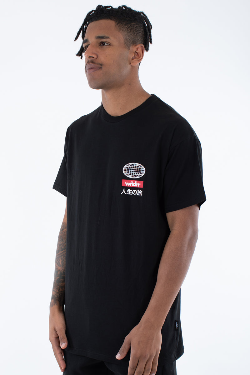 IZUKU CUSTOM FIT TEE - BLACK