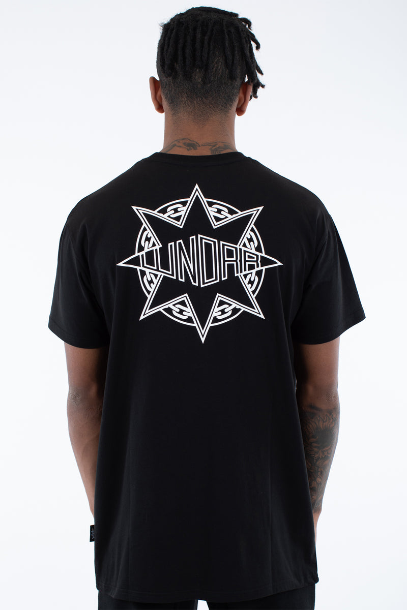 GANGSTAR CUSTOM FIT TEE - BLACK
