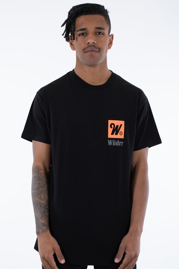 DUE CUSTOM FIT TEE - BLACK