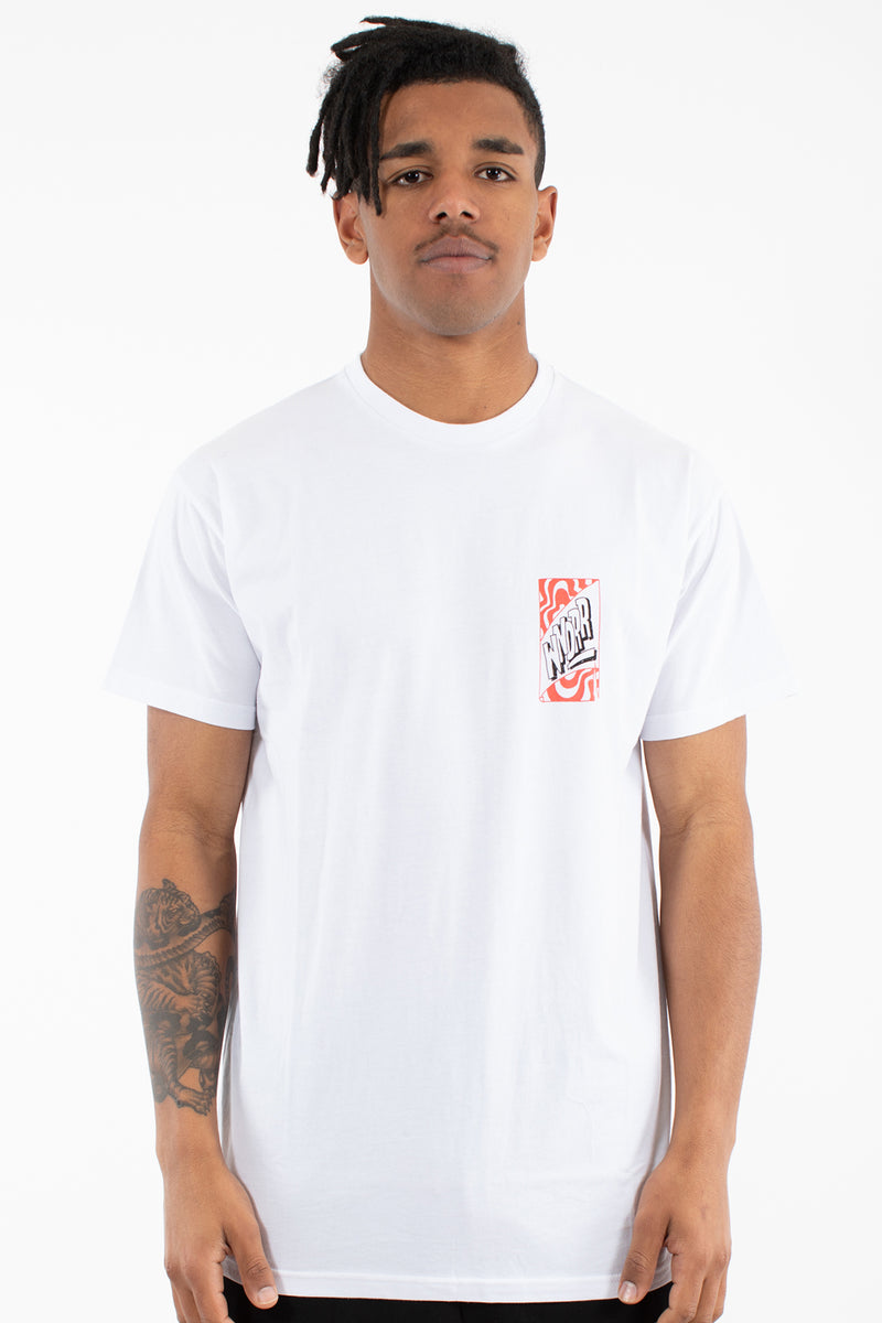 AIGHT CUSTOM FIT TEE - WHITE
