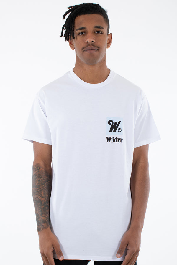 DUE CUSTOM FIT TEE - WHITE