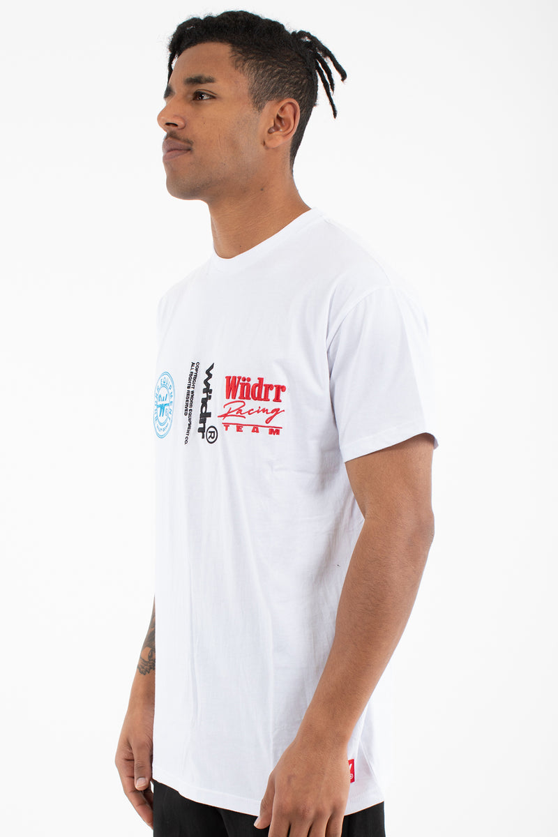 TRACTION CUSTOM FIT TEE - WHITE