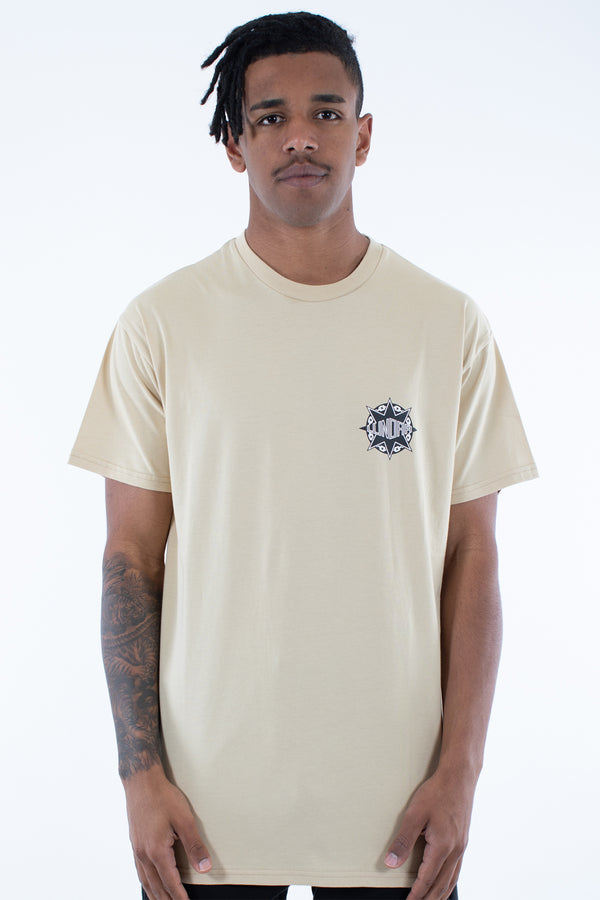 GANGSTAR CUSTOM FIT TEE - TAN