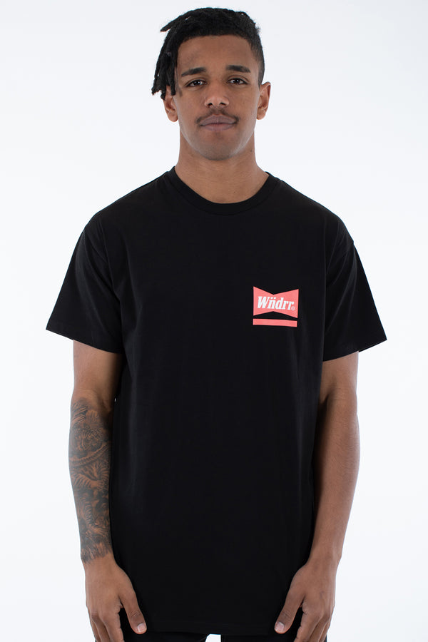 CHADWICK CUSTOM FIT TEE - BLACK
