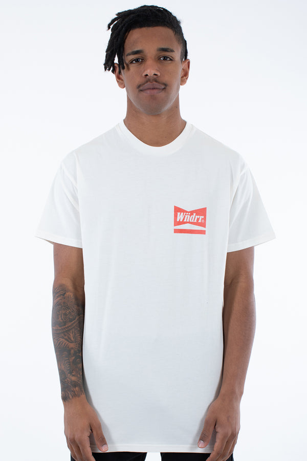 CHADWICK CUSTOM FIT TEE - OFF WHITE