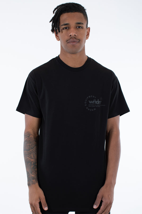 STAGE CUSTOM FIT TEE - BLACK/BLACK
