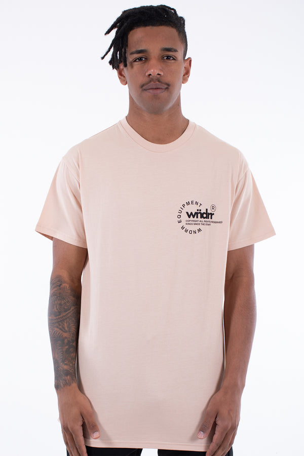 STAGE CUSTOM FIT TEE - SAND