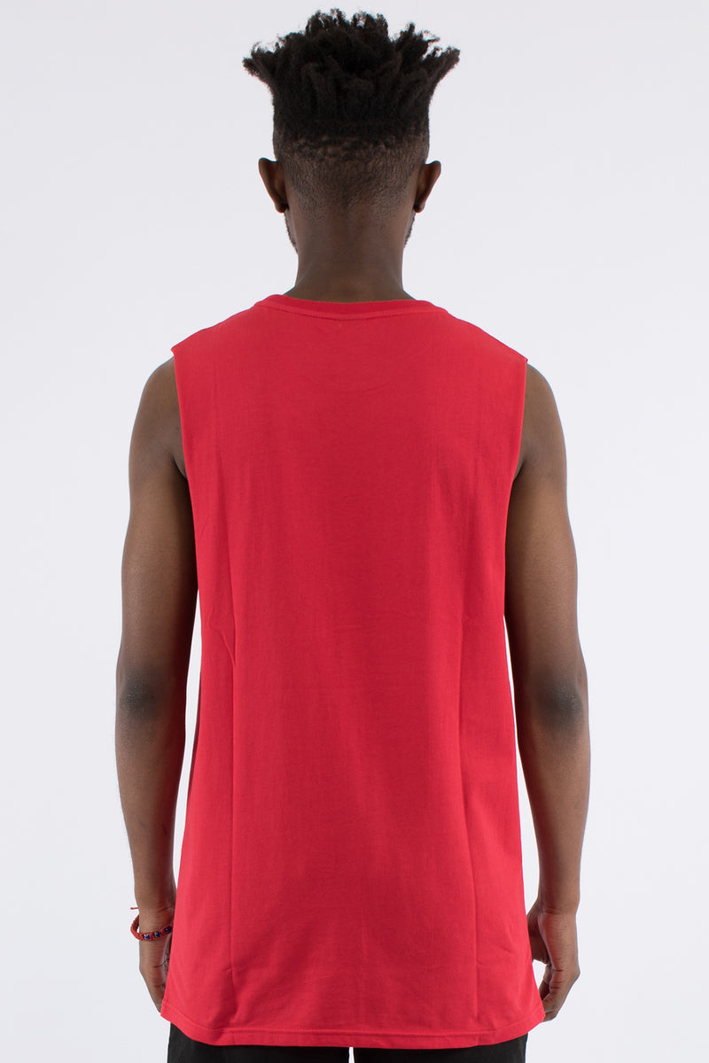 MINISTRY MUSCLE TOP - RED