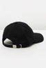 ACCENT 6 PANEL DAD CAP - BLACK