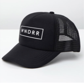 NOTORIOUS TRUCKER CAP - BLACK/BLACK